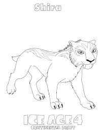 Small Picture Ice Age Coloring Pages 2 Coloring Kids