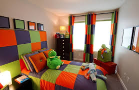 The boldness of a triadic scheme makes it the perfect choice for a kid's  room.