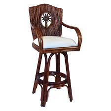 30 in bar stools. Hospitality Rattan Lucaya Indoor Swivel \u0026 Wicker 30 In. Bar Stool With Cushion - TC Antique | Hayneedle In Stools