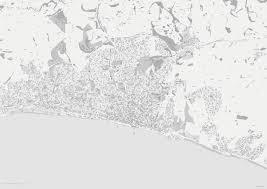 Brighton And Hove Street Map Editable Vector Artwork Illustrator