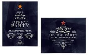Holiday Party Invite Templates Free Invitation Microsoft