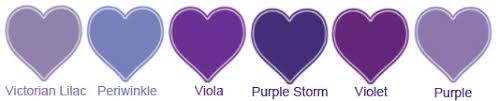 Alfred Angelo Colour Chart Alfred Angelo Purple Storm Or Viola