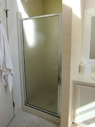 opaque glass doors shower stall doors opaque glass opaque glass door inserts