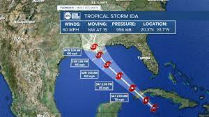 4 hours ago · hurricane and storm surge watches were issued friday morning for several gulf coast states as tropical storm ida barreled toward the southern u.s., with forecasters warning it could rapidly. Otchi8wkc5tysm