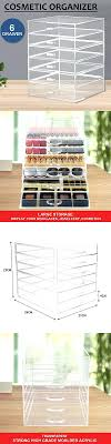clear acrylic makeup organizer with drawers pumpkin clear handle makeup organizer clear acrylic makeup organizer cube