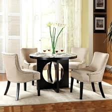 pottery barn round kitchen table lovely circle dining room table orbit round dining table round glass