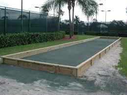 bocce ball court construction. Interesting Ball Bocce Courts And Ball Court Construction 0