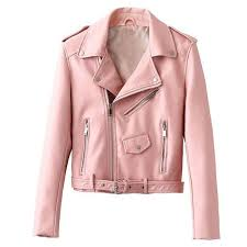 light pink biker jacket equata the best 2018