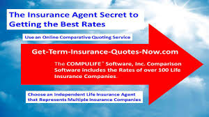 how to get the best term insurance rates