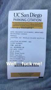 Back To School And Im Old Fucking Parking Ticket Late Night