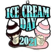 Ice Cream Day 1M 5K 10K 13.1 26.2 ...