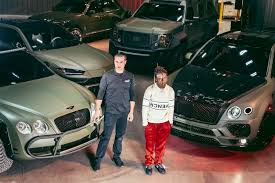 So this week when mayweather posted a photo of his ridiculously expensive new car, paid for in part i'm sure by a public who kept buying his fights kind of thing floyd has done in the past. Lil Uzi Vert