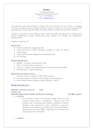 Insurance Resume Format Resume For Your Job Application