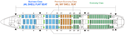Jal Boeing 777 Seating Chart Boeing777 200er 777 Aircrafts And Seats Jal