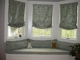 Kitchen Bay Window Seating Room Design Ideas Window Treatments Ideas For Bay Windows In Bay