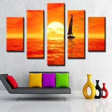 Small Picture Plant Oil Painting Handmade Canvas Wall Art New Fashion Style the