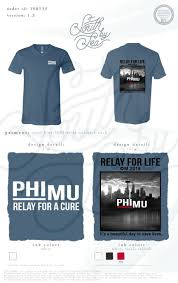 Relay For Life Shirt Designs Phi Mu Relay For A Cure Relay For Life City Skyline T