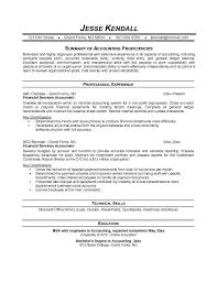 free financial services accountant resume example junior accountant resume