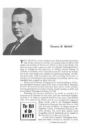 Thomas H Mcdill