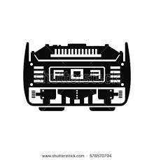 power generator icon. Plain Power Power Generator Vector Icon With Power Generator Icon