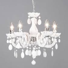 marie therese light dual mount chandelier white from litecraft