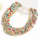 Where to Buy Fashion Multilayer Chains Beads Choker Online ...
