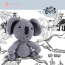 <b>KC574</b> Kev Koala- ~ Knitty Critters