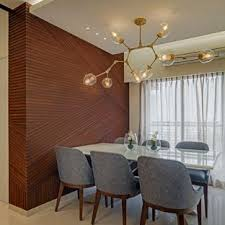 dining room lighting ideas. Example Of A Trendy Dining Room Design In Mumbai Lighting Ideas R