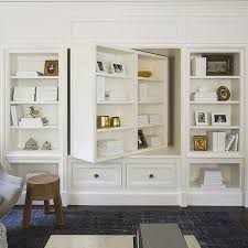 tv furniture ideas. Pivoting Bookcase And TV Cabinet Tv Furniture Ideas