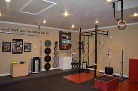 very nice gym lots of space garage ideas n27