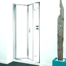 accordion glass shower door doors erfly medium size of amusing frameless bi fold ac
