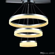 led pendant lamp modern acrylic led pendant lamp round ring restaurant study bedroom living room decoration led pendant lamp