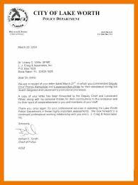 12 13 Letter To Chief Of Police Sample Mysafetgloves Com