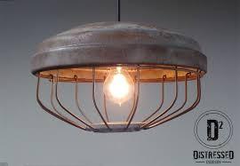 repurposed lighting. Custom Made Repurposed Chicken Feeder Pendant Light, Edison Bulb Included Lighting E