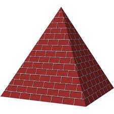 Image result for pyramid shape