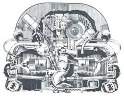 vw diesel engine diagram removing and installing sealing flange and vw diesel engine diagram bus engine diagram wiring diagram bus engine vw t5 19 tdi engine