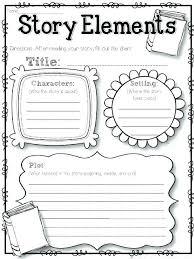 Story Plot Worksheets Grade Setting Worksheet Download Them