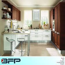 customized kitchen cabinets. Modern Customized Wood Kitchen Cabinets Sharker Panel Door Style Furniture BMK-58