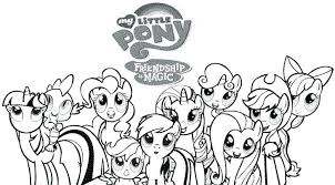 My Little Pony Coloring Pages Friendship Is Magic My Little Pony