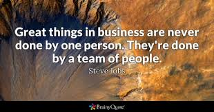 One Team One Dream Quotes Best of Team Quotes BrainyQuote