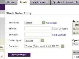 Stop On Quote Etrade
