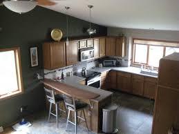 excellent painted kitchen with dark gray kitchen walls