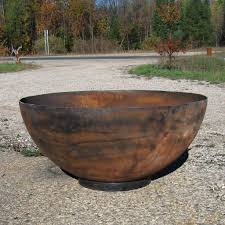 beautiful steel bowl for fire pit steel bowl fire pit fire pit grill ideas