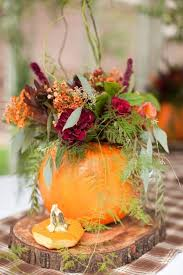 Pumpkin Inspired Table Centerpieces for fall entertaining
