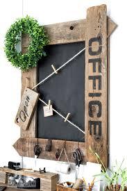 Office Chalkboard Reclaimed Wood Farmhouse Office Sign Chalkboard With Twinefunky Junk