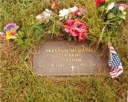 Preston McDaniel (1942-1996) - Find A Grave Memorial