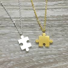 tiny puzzle necklace jigsaw puzzle