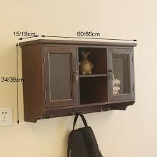 Amazoncom Bgcg American Retro Solid Wood Kitchen Wall Cabinet