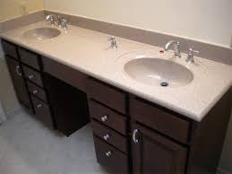 White Double Bathroom Vanities Furniture Attractive Bathroom With Double Sink Vanities