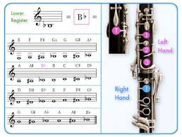 Clarinet Note Chart For Beginners Skyleap Music A Better Clarinet Fingering Chart